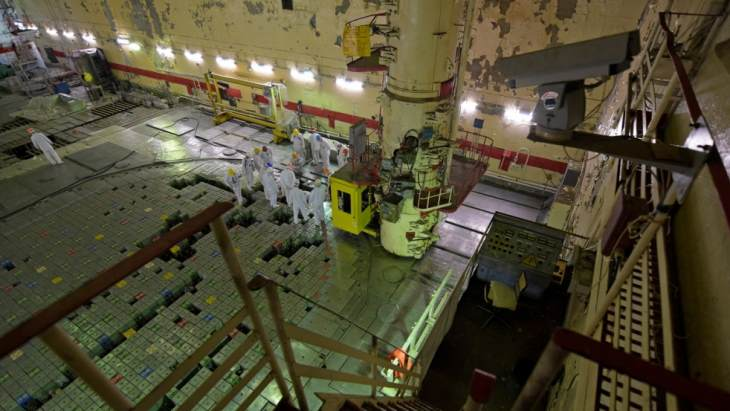Channel removal work trialled at Chernobyl