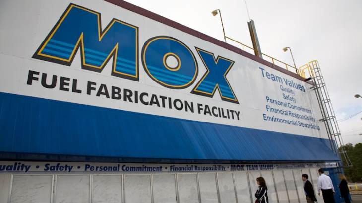 MOX Services gets settlement deal for shuttered facility at Savannah River