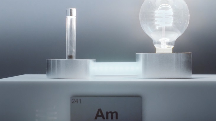 UK generates usable electricity from americium