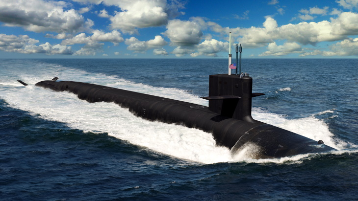 Contract for first two Columbia class submarines for US Navy