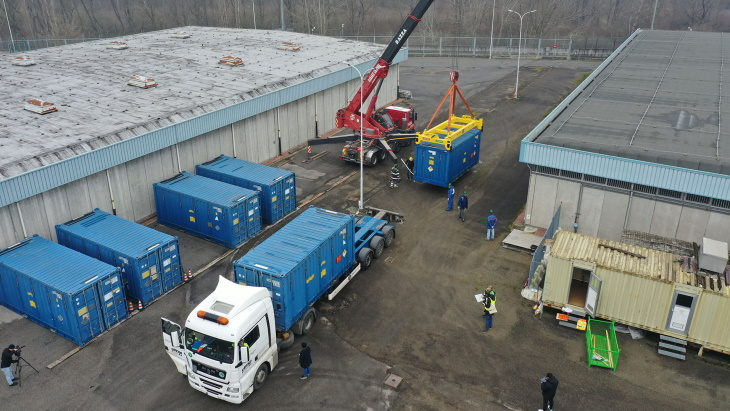 Next phase of Italian nuclear waste shipments to Slovakia begins