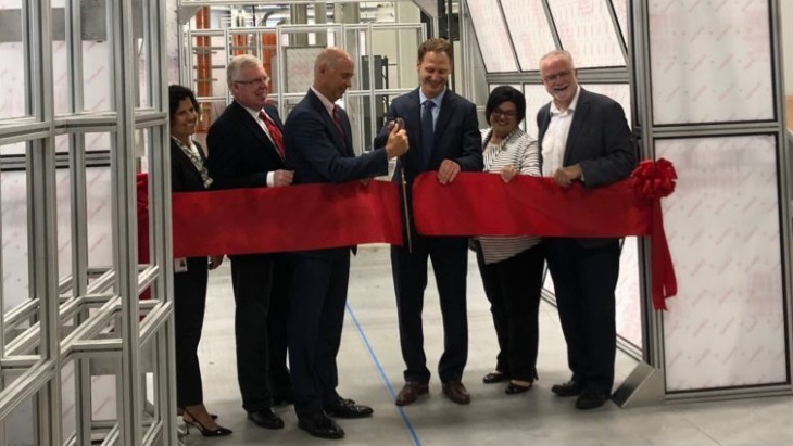 Advanced automation testing facility opens in Canada