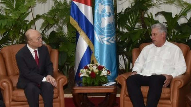 Head of IAEA visits Cuba
