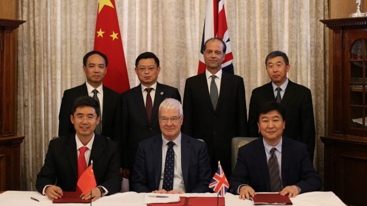 UK and China team up on environmental protection