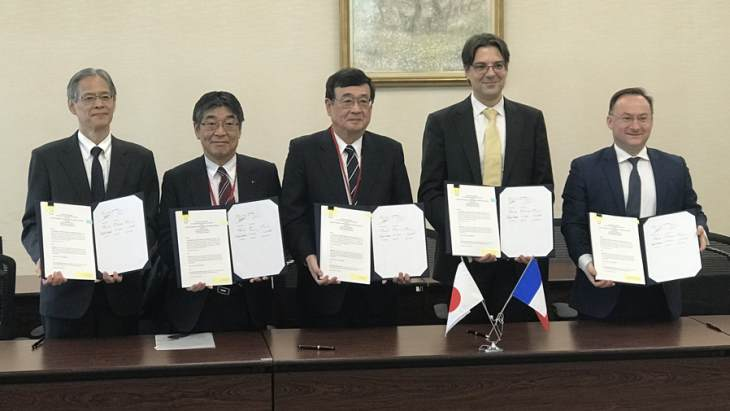 France and Japan collaborate in fast reactor development