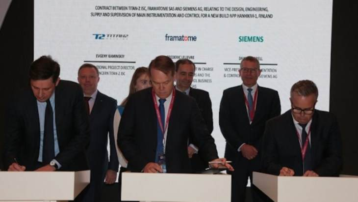 Framatome-Siemens awarded Hanhikivi I&C contract