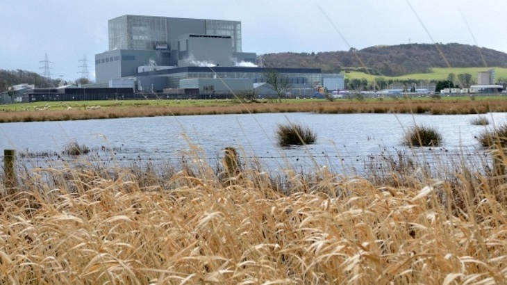 EDF Energy gets go-ahead to restart Hunterston B Reactor 4