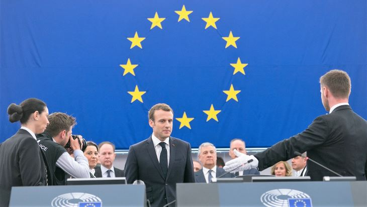 Macron: Europe must prioritise emission reductions