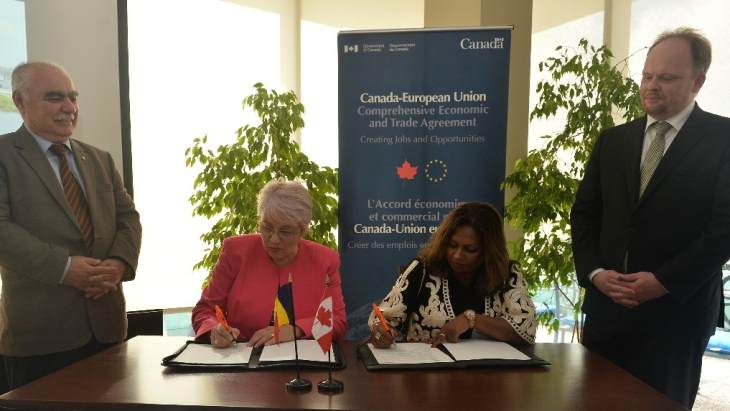 Canadian, Romanian industry groups extend cooperation