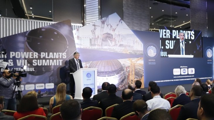 Nuclear Power Plants Expo & Summit in Istanbul, March 2020.