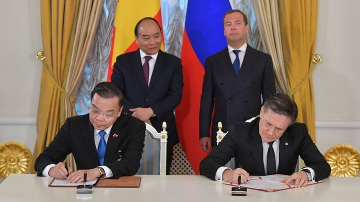 Russia, Vietnam progress with nuclear research centre project