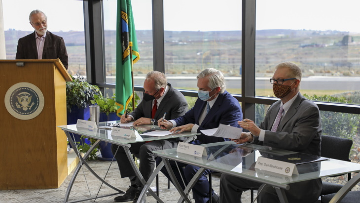 Partnership formed for advanced reactor deployment in Washington State