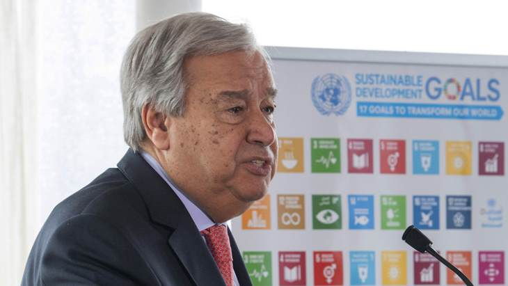 UN chief calls for more action on climate change