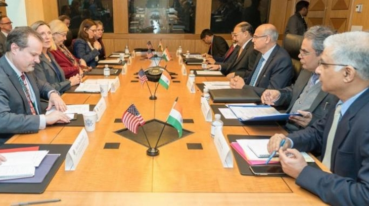 India, USA document their commitment to new build