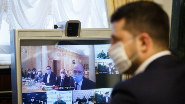 Ukrainian President reassured of end to forest fire