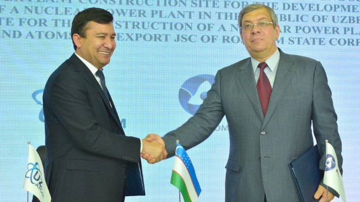 Russia and Uzbekistan agree to start survey of new plant site