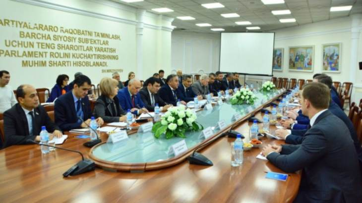 Uzbek lawmakers learn about Russian nuclear power