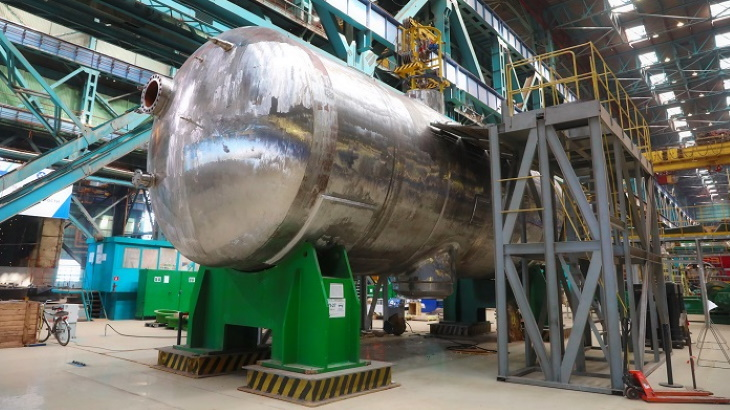 Kursk II completes steam generator hydraulic tests