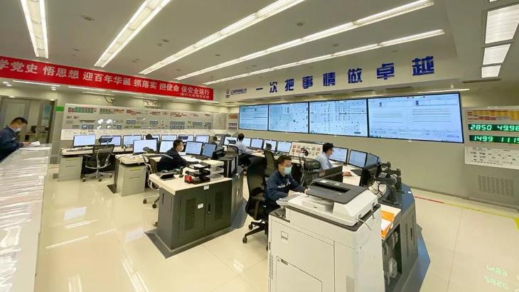 Velín 6. bloku jaderné elektrárny Tchien-wan. (Zdroj: CNNC)