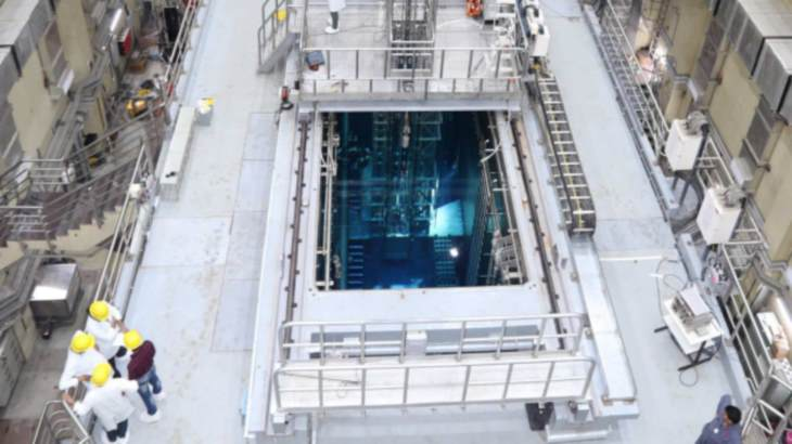 India recommissions Apsara research reactor