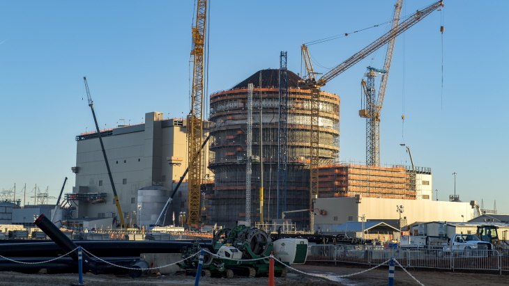 Containment concreting milestone at Vogtle 3
