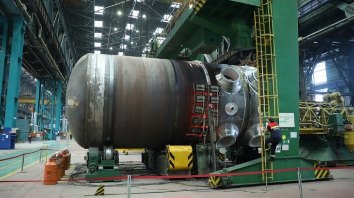 Russia seals Akkuyu reactor vessel