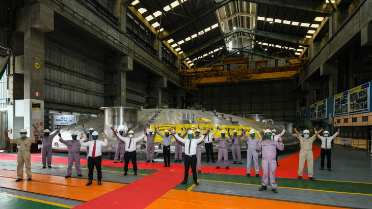 Indian firm completes ITER cryostat manufacture