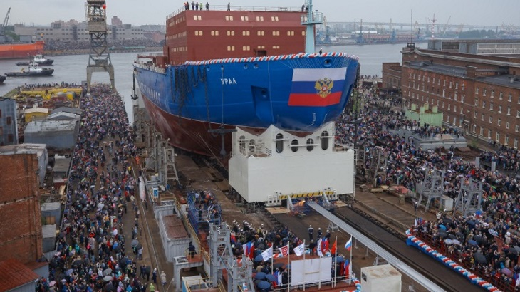 Russia plans next two nuclear icebreakers