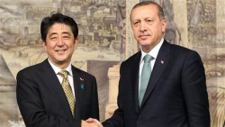Abe and Erdogan, October 2013 (Basbakanlik) 250x141