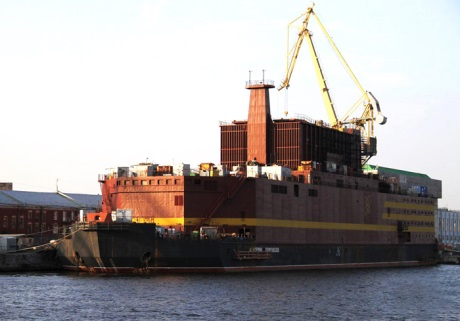 Cargo ship arrives at Pevek - 460 (Rosenergoatom)
