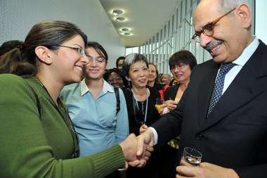 ElBaradei's leaving event (IAEA / DeanCalma)