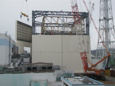 Fukushima unit 1 cover 15 September (Tepco)