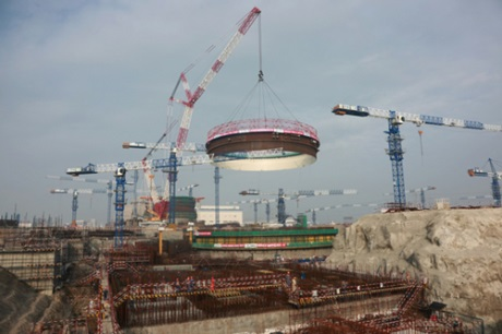 Fuqing 6 containment construction - 460 (CNNC)