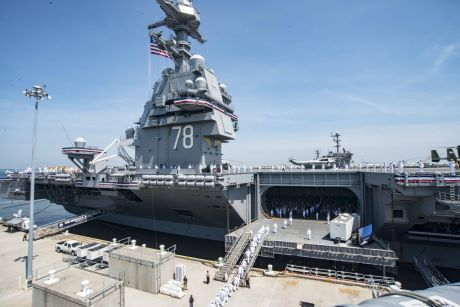 US Navy commissions new nuclear ship - World Nuclear News