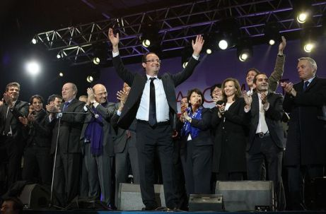 Hollande wins presidential election (PS)