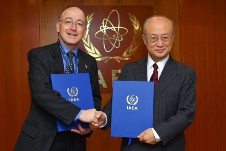 IAEA-UK  safeguards agreement - 460 (BEIS)