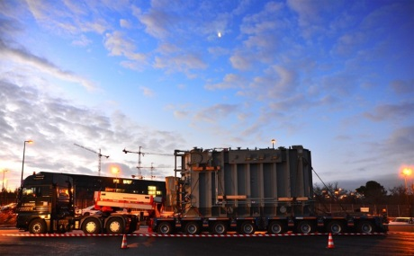 ITER transformer arrival 460