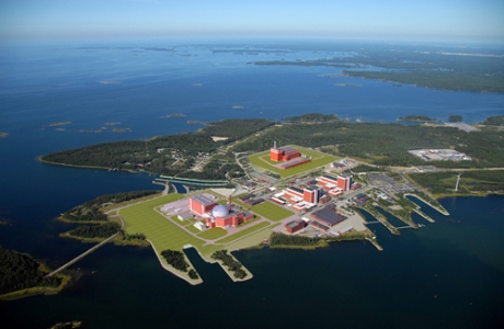 Olkiluoto site with 4 units