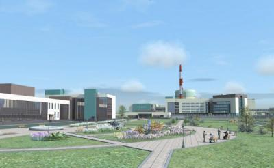 Ostrovets artists impression (Belarus AEC)