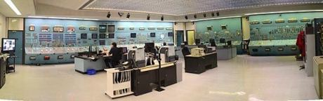Point Lepreau control room (CNSC)