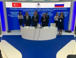 Rosatom-Turkish consortium - June 2017 - 250 (Akkuyu Nukleer)