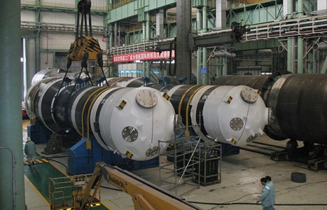 Steam generators for Yangjiang 3, January 2012 (Shanghai Electric) 460x296